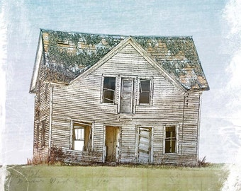 Abandoned House, Fine Art Print