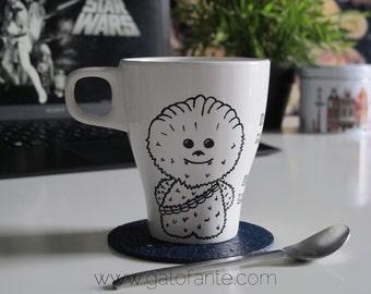 Chewy and Ewok Mug