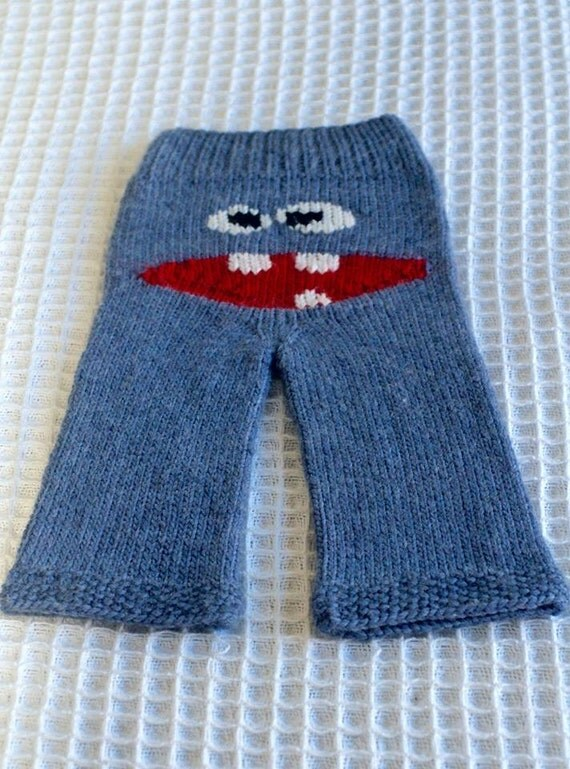 Knitting Patterns For Childrens Characters : Knitting Pattern PDF Download Childrens Clothing Longies Boy