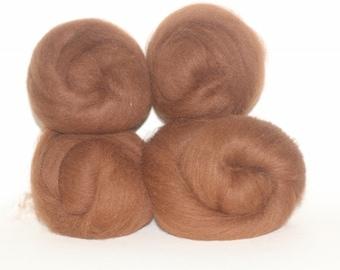 Wool Fiber Spinning Batt Alpaca