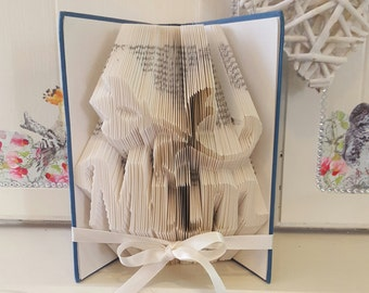 Mum Book Folding Pattern with Flower and Tutorial 608 pages 304 folds with measurements Mother's Day Gift Please Read Listing PDF File Only