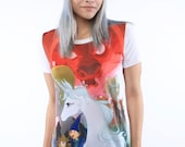 OFFICIAL The Last Unicorn Tee featuring the cast:  IN STOCK