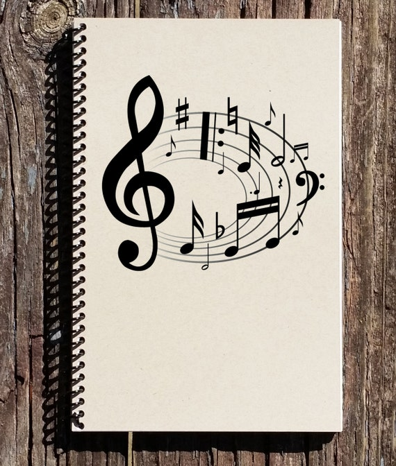 music notebook music journal music of the by culturalbindings