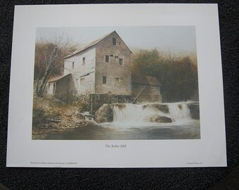 The Roller Mill by Hubert Shuptrine from the book Home to Jericho