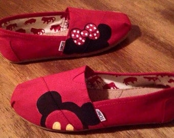 Custom Toms shoes