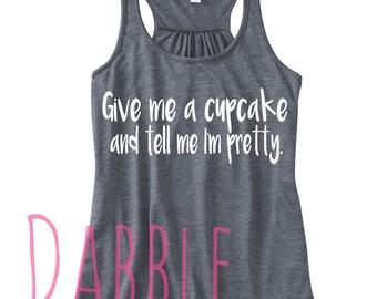 Give me a cupcake Tank