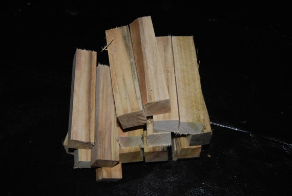 "Spalted Sweet Gum pen turning blanks, 1 1/4"" X 1 1/4"" X 6"", wood working supplies, wood turning supplies"