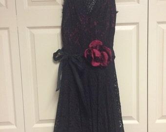 Black Lace Dress, size 2