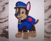 Captain Billy Large Applique Machine Embroidery Design Pattern-INSTANT DOWNLOAD