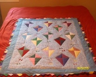 """Quilt  """"Let's Go Fly a Kite"""""""