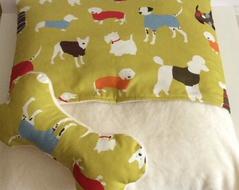 Man's Best Friend Snuggle Bed and Pillow