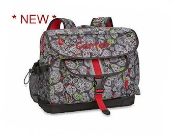 Personalized Bixbee Zombie Camo Big Kids Backpack (Medium)
