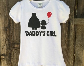 "Star Wars ""daddys girl"" infant/toddler graphic tee"