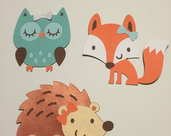 Woodland & Forest Animal Cutouts