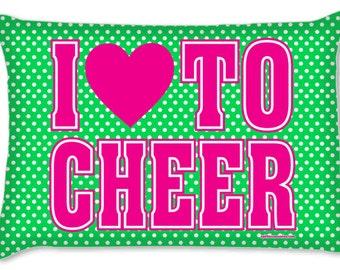 Cheer Pillowcase Polka Dot