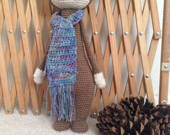 Lalylala Bina bear doll amigurumi