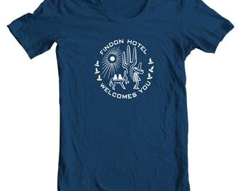Findon Hotel Welcomes You Vintage Matchbook T-shirt