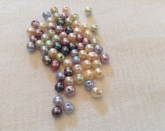 Lot of 68 5mm fresh water pearls