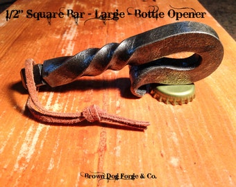 Bottle Opener Hand Forged-Large-Hand Forged Bottle Opener-Metal Bottle Opener-Bottle opener-Handmade Bottle Opener-Handmade Metal bottle ope