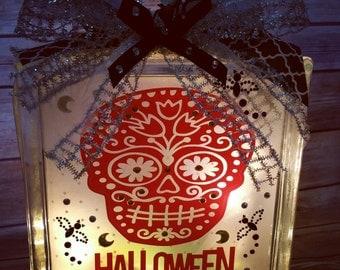 Sugar Skull Halloween Light