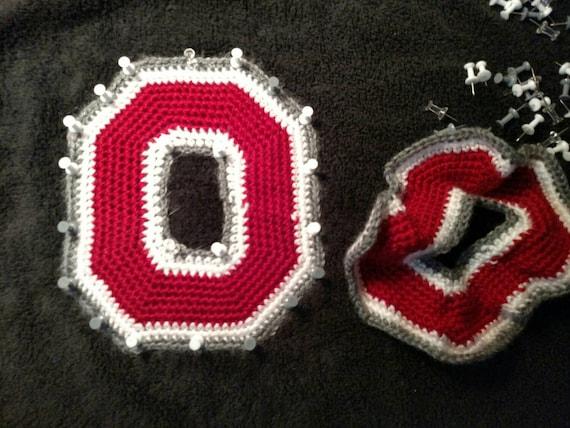Crochet Pattern Pattern for Ohio State Inspired Crochet