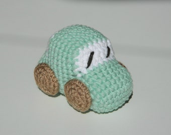 Crochet Amigurumi Car Baby Stuffed Toy-Car toy- Baby boy toy- Cotton toy- Baby shower gift- Eco friendly- Amigurumi baby toy- Stuffed toy
