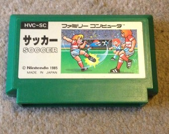 Soccer for Famicom Game. Free Shipping! NES HVC-SC 8bit