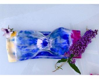 Tie Dye Ladies Bandeau UK size 14