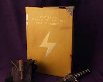 Fire Emblem Super Smash Bros SSB Thunder Tome Book / Kindle / iPad / Tablet Cover / Journal (Inspired by Fire Emblem)