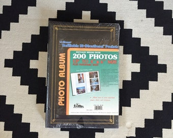 1980s UNUSED Vintage Photo album in original packaging