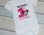 Minnie Mouse Birthday Onesie or Shirt Personalized
