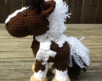 Custom Crochet Horse or Pony- Complex