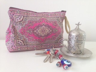 Traditional Woven Turkish Pouch Turkish Tapestry Bag Woven