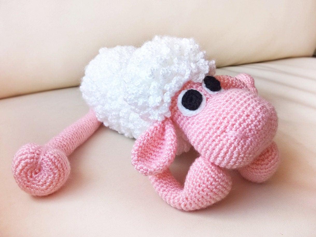 Amigurumi Sheep Tutorial : Crochet Animal Sheep Patterns Crochet Amigurumi by RenaTienda