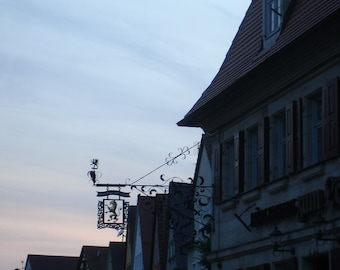 Signs sky, original photography, 20 x 30 cm