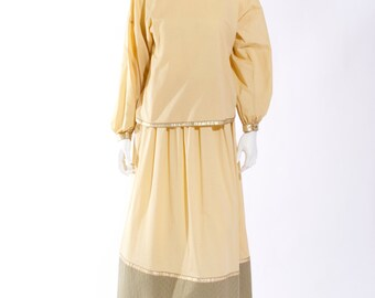 1980s Geoffrey Beene Skirt Ensemble