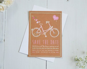 Hearts & Bicycles Save the Date