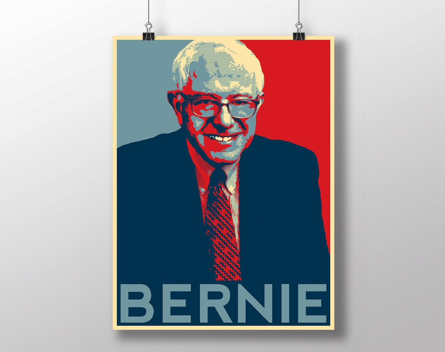 Chandeliers & Pendant Lights: https://etsy.com/listing/241481164/bernie-sanders-hope-poster...