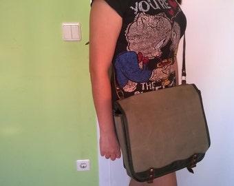 Army bag, shoulder bag, military bag, Fly fishing bag, messanger bag