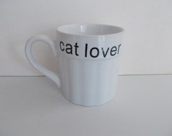 Cat Lover XL Mug
