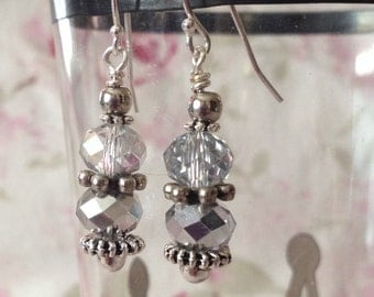 Vintage Glass Bead Earrings