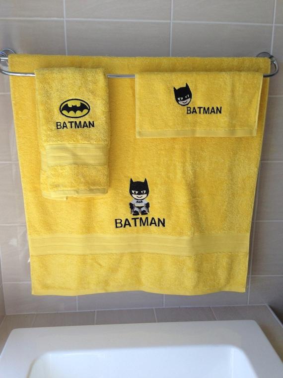Batman bathroom sets 28 images batman bathroom set for Batman bathroom ideas