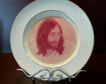 JOHN LENNON Collectible Plate by Weatherby England