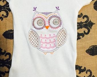 Owl Onsie's & Toddler t-shirts