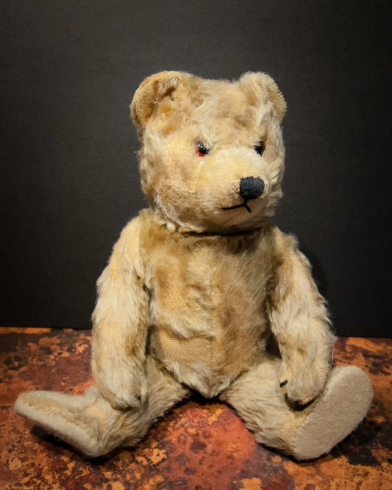 Antique Steiff Golden Mohair Teddy Bear