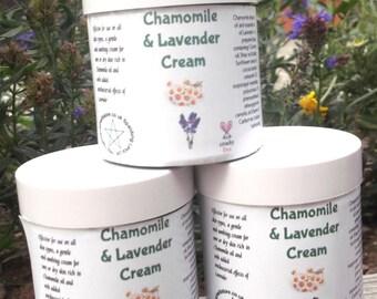 Chamomile and Lavender Cream