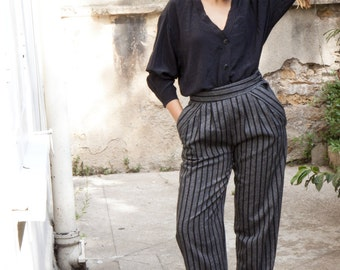 Trousers high waist