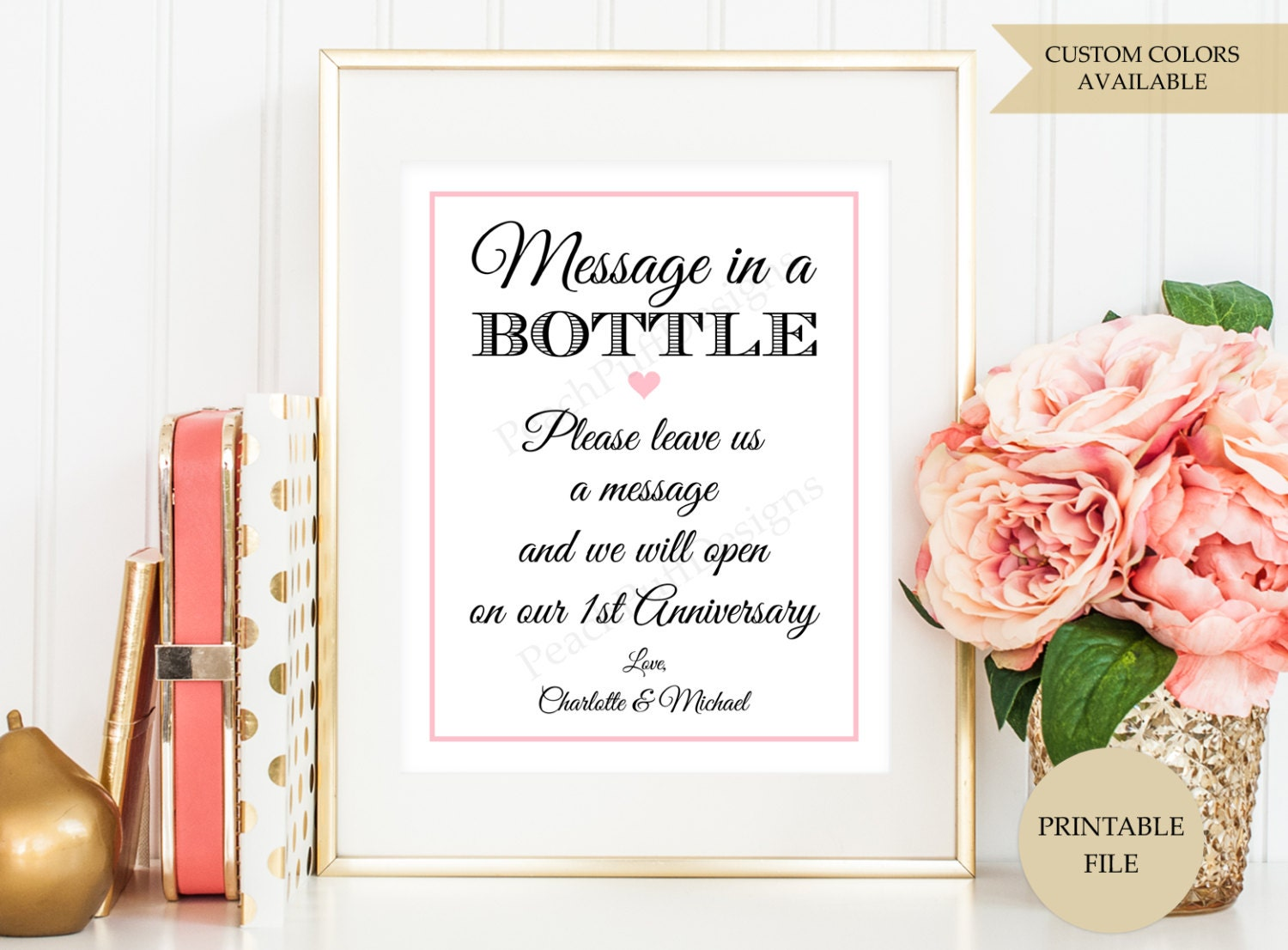 Message in a bottle – Message in a Bottle Party Invitations