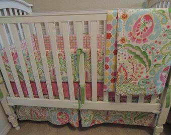 Garden Party Custom Baby Bedding Set