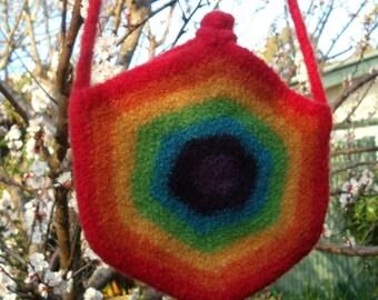 Rainbow Bag / Handbag / Shoulder Bag